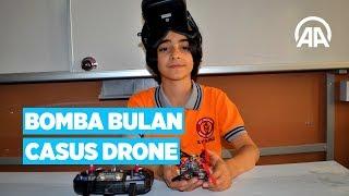 Ortaokul öğrencisinden bomba bulan casus drone