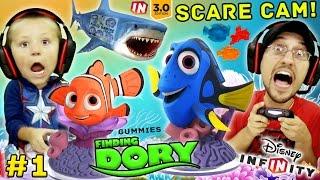 het vinden van dory haai schrikken cam! Disney infinity 3.0 Movie speeltoestel deel 1