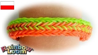 "Rainbow Loom MonsterTail ""Bransoletka Suwak"""