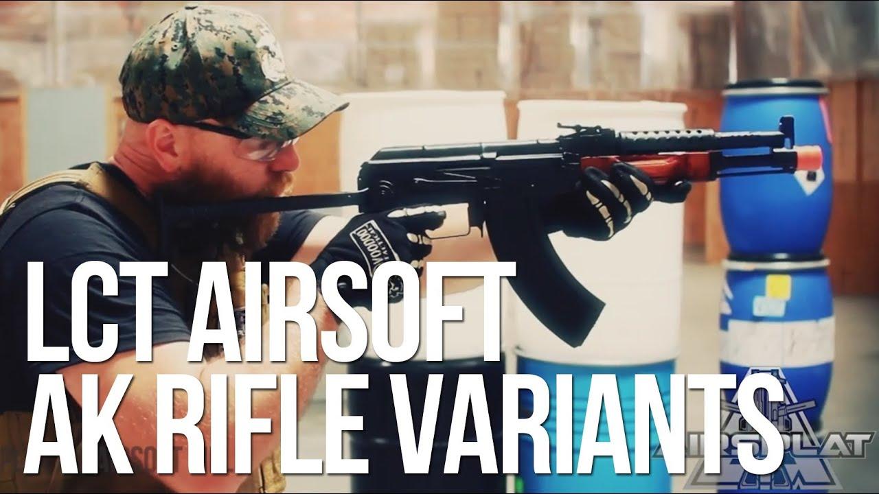 Lct Akm Aeg Lct Airsoft Ak47 Tactical Aeg