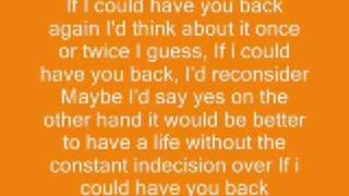 Watch Aly  Aj If I Could Have You Back video