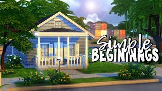 Simple Beginnings || The Sims 4 Budget Neighborhood: Speed Build