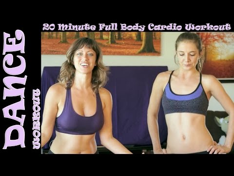 Fun Dance Exercise Workout Fat Burning 2, Legs, Thighs, Butt At Home Beginners Aerobic Cardio video