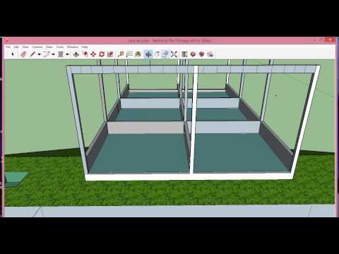 Como fazer uma casa em um terreno em declive