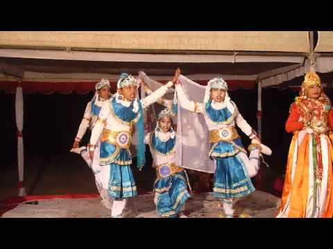 Bharat Vande Matram  (group Dance) By Rural School Basic Shiksha Parishad Students video