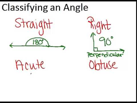 Angle Classification Principles