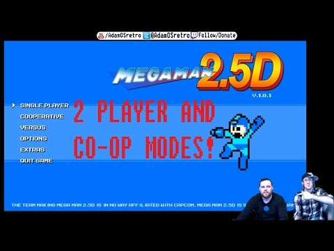 [Mega Man 2.5] Co-Op and 2 Player Modes!