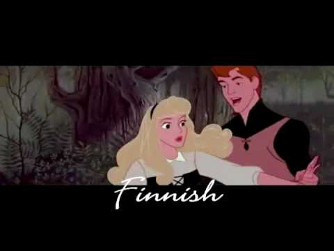 Sleeping Beauty - Once Upon a Dream (One line multilanguage) Music Videos