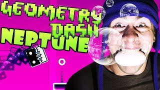 Geometry Dash ~ Neptune v2 Stereo Madness, Back on Track, Polargeist | Soap in Mouth Challenge!