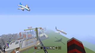 Minecraft SimCity 2000 Plane