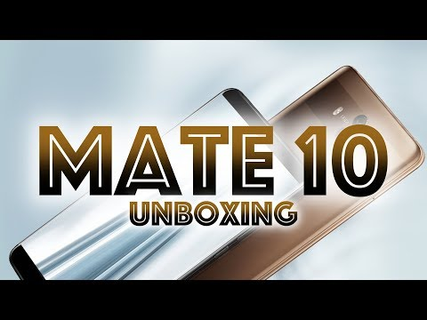 Huawei Mate 10, unboxing ACCIDENTADO