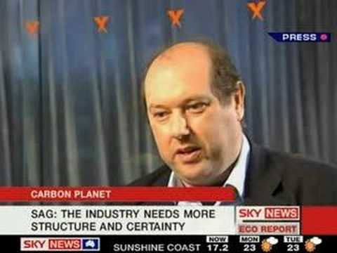 Dave Sag interviewed on Sky News' Eco Report