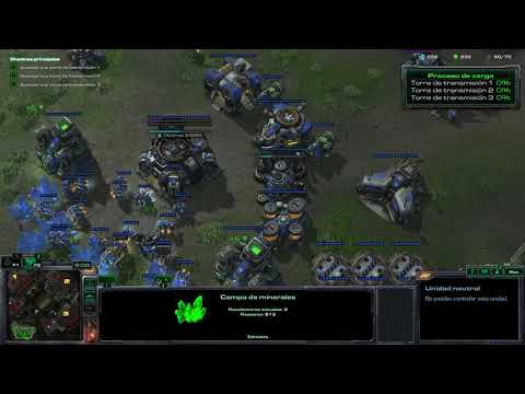 StarCraft 2 Misión 19 Bombardeo mediático - Wings of liberty - Brutal