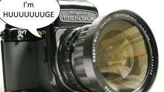 Introduction to the Pentax 6X7 MLU (Video 1 of 3)