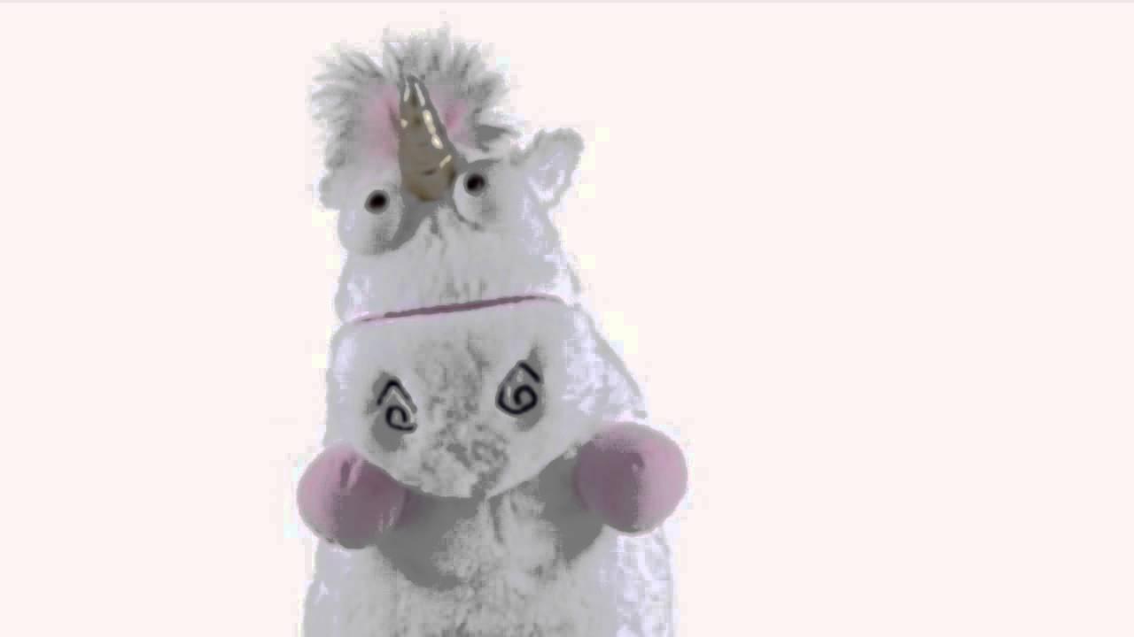 Despicable Me 3D Ride Agnes Fluffy Unicorn
