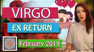 "Virgo "" EX RETURNS"" OMG, it will happen soon February 2019  LOVE READINGS"