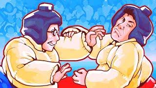 Sumo Wrestling Elon Musk! - GTA 5 Sumo Remix Funny Moments and Fails