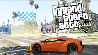 GTA V Online Race Funny Moments #1 'THE BEGINNING'