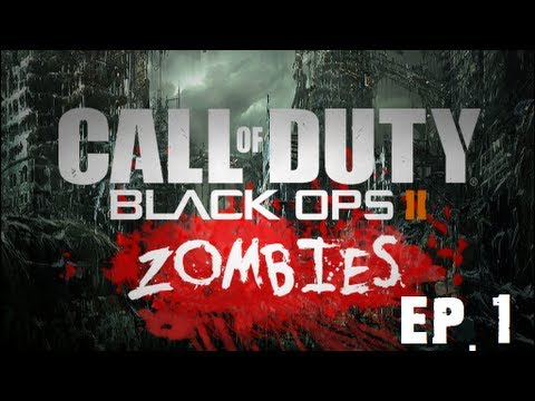 BLACK OPS 2 ZOMBIES | ReanimationX versus THE ZOMBLIES
