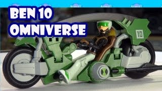 Ben 10 Omniverse Tenn-Speed Cycle Toy Review Unboxing