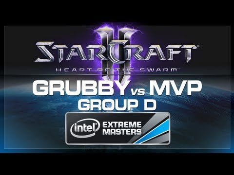 Grubby vs MVP - SC2 (Group D) - IEM World Championship 2013