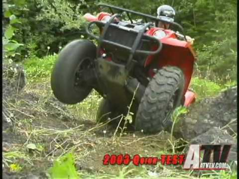 2003 Yamaha Kodiak 400 Quick Test - ATVTV Test Video Series
