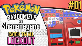 Pokemon Randomizer Catch 'Em All LOCKOUT vs Shenanagans #1