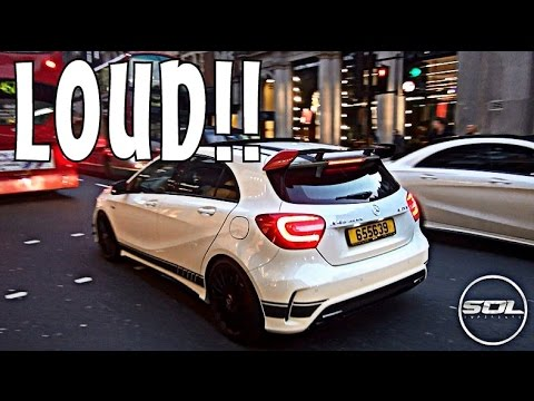 LOUD Mercedes Benz A45 AMG: POCKET ROCKET!