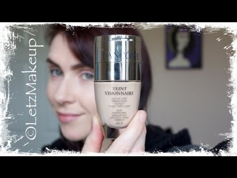 Lancome 'Teint Visionnaire' Foundation & Concealer Duo; Review & Demo.