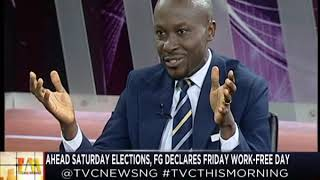 TVC This Morning 21st Feb, 2019 | FG declares Friday work-free day