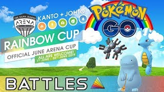 Rainbow Cup Battles | Pokemon Go PvP