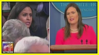 Press Pool Cracks Up When Sarah Sanders Uses Jim Acosta To Shut Down Another Unruly Reporter