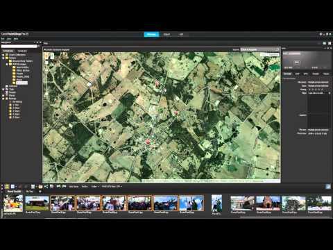 Tutorial: PaintShop Pro X5 - Places (Google Maps)