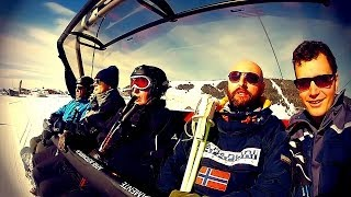 Crazy Ski Day in Dolomites & Mountain Party | HD