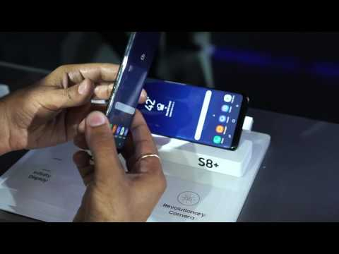 Samsung Galaxy S8 and S8 Plus: First Look | Hands on | Launch| [Hindi हिन्दी]