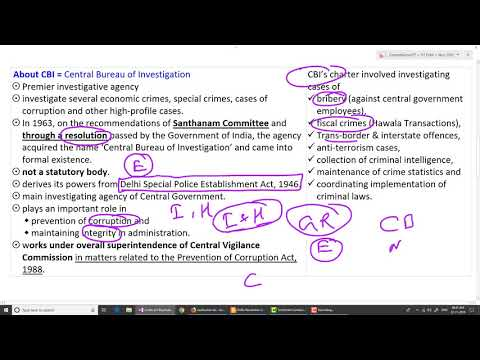 (हिंदी में) Andhra, Bengal bar CBI | Limits of CBI jurisdiction | GS2 | Sumant Kumar