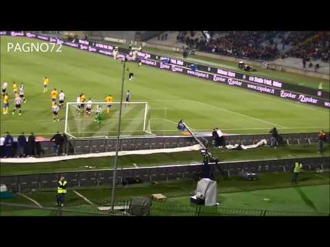 Udinese Vs JUVENTUS Goal Llorente 0-2