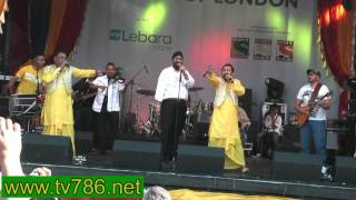 Oah Yaaro Kaun Nachdi Bhangra song by Heera at Trafalgar Sq London