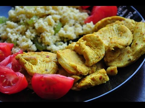 Куриная грудка: с кориандром и куркумой, за 5 минут на сковородке [спортивная диета]