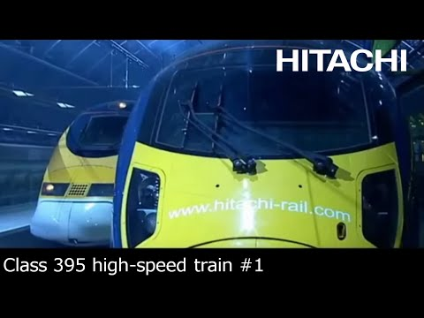 Hitachi Class 395 train for Southeastern Railway (UK) - Hitachi