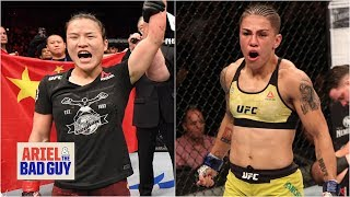 I'd be surprised if Jessica Andrade beat Zhang Weili in China - Chael Sonnen | Ariel & the Bad Guy