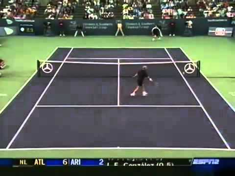 Andy Roddick vs Andre Agassi  Cincinnati 2004 Semifinals best of Andy Roddick
