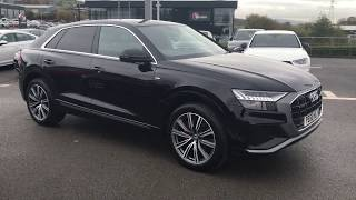 For sale AUDI Q8 S line 50 TDI quattro 286 PS tiptronic at Blackburn Audi