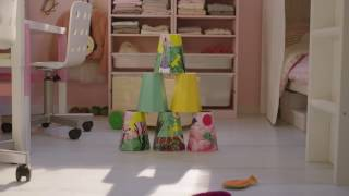 IKEA Square metre challenge part 4:  Shared and personal kids' room