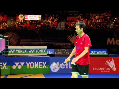 YONEX ALL ENGLAND BADMINTON CHAMPIONSHIPS 2014 MATCH 5 SF