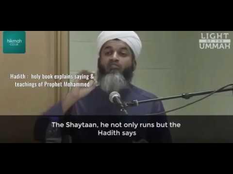 shaytaan hiding in the washroom....Educate Yourself