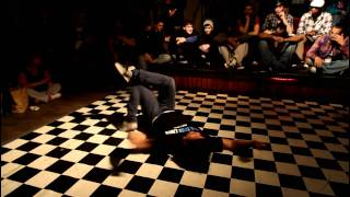 UBL (Urban Bboy League) - Dublin 2011 - Final Battle - LLCB vs Electron Libre