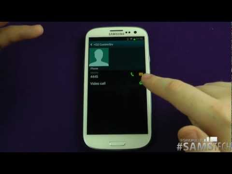Samsung Galaxy S3  - Contacts Trick