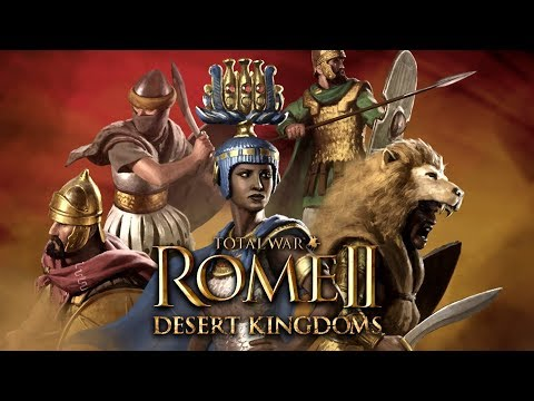 ROME 2 TOTAL WAR - REINOS del DESIERTO (Trailer)