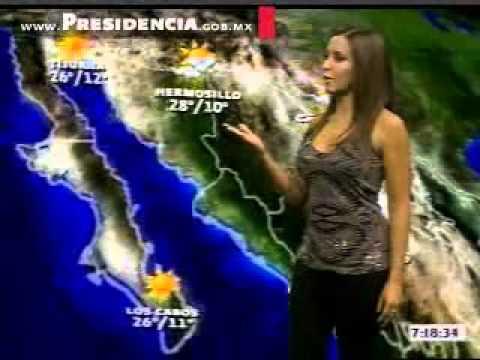 Pamela Ramos,  Clima en el noticiero